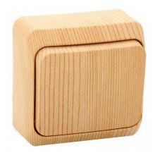 Выключатель Этюд 1-клавишный, сосна Schneider Electric