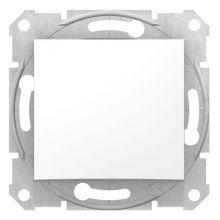 Выключатель Sedna 1-клавишный, белый Schneider Electric
