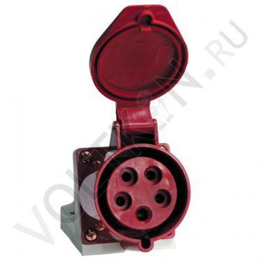 Розетка стационарная наружная 115 3P+PE+N 16А 380В IP44 EKF PROxima
