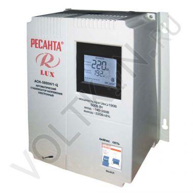Стабилизатор напряжения АСН-5000Н/1-Ц Lux Ресанта