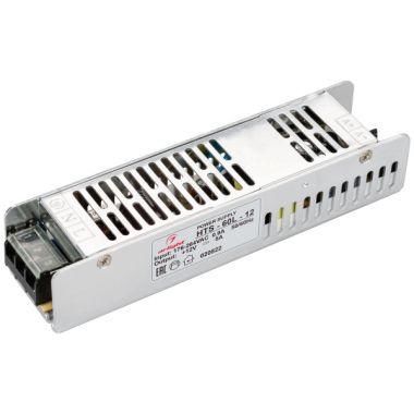 Блок питания LED HTS-60L-12 (12V, 5A, 60W) (ARL, IP20 Сетка, 3 года) Arlight