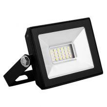 Прожектор светодиодный LED 10W IP65 4000K SFL90-10 черный Saffit