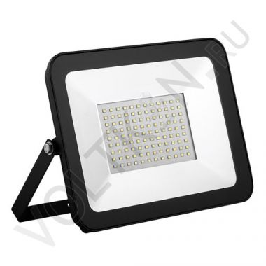 Прожектор светодиодный LED 100W IP65 6400K SFL90-100 черный Saffit